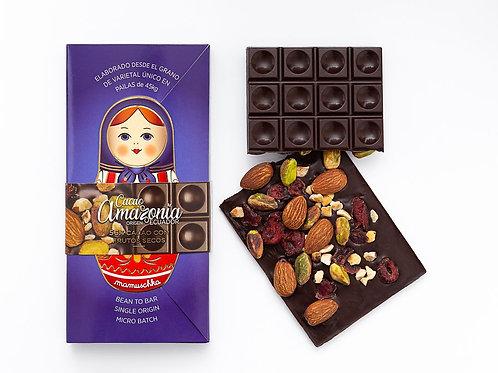 Tableta 56% Cacao+Frutos Secos Mamuschka