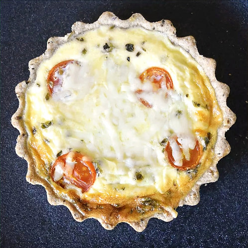 Tarta York de jamón cocido, mozzarella y provolone Piso Uno