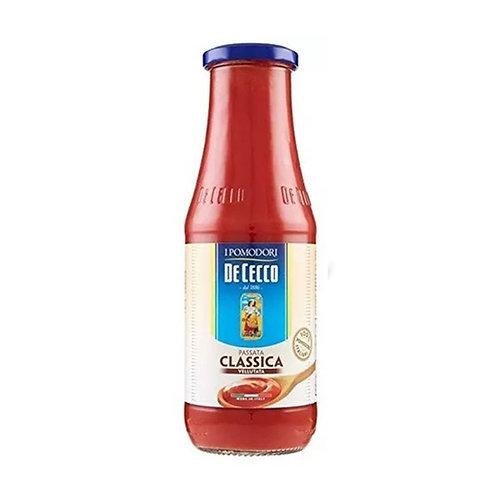 Salsa Passata Clásica De Cecco 669 ml