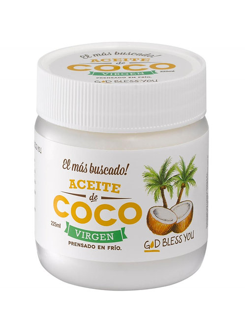 Aceite de Coco Virgen - God Bless You 500 ml.