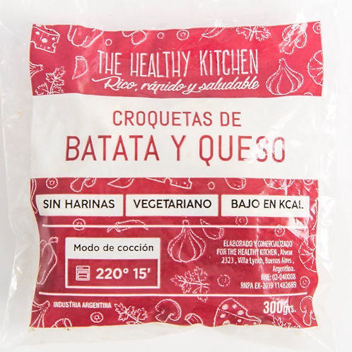 Croquetas de Batata y Queso - The Healthy Kitchen 300 grs.