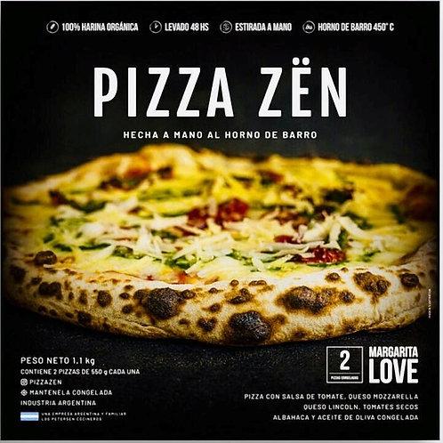 Pizza Zën Margarita - 2 unidades