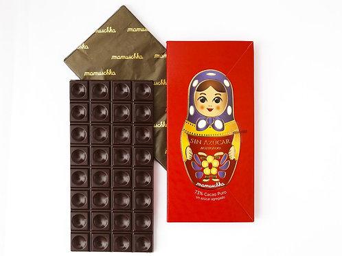 Tableta Cacao Sin Azúcar Mamuschka