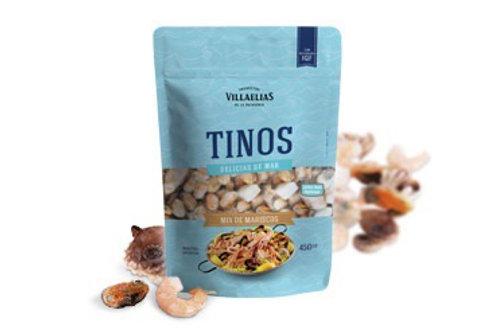 Mix de Mariscos Tinos 450 gr