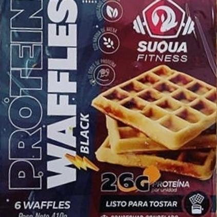 Waffles Protein Black 6u Suqua Fitness