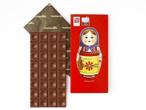 Tableta Puro Chocolate con Leche Mamuschka