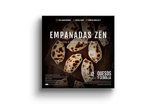 Empanadas de Queso y Cebolla - 12 u. Pizza Zën