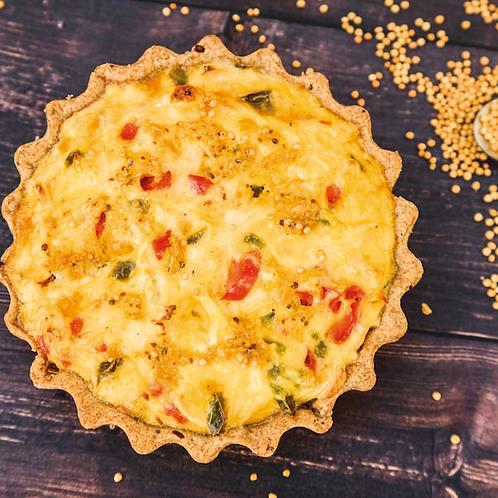 Tarta Dijon de pollo, puerro y mostaza Piso Uno