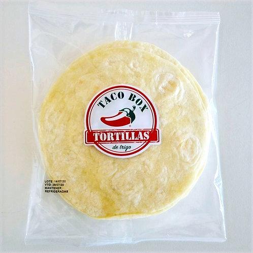 Tortillas de Trigo Taco Box 12 u