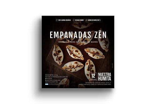 Empanadas de Humita - 12u. Pizza Zën