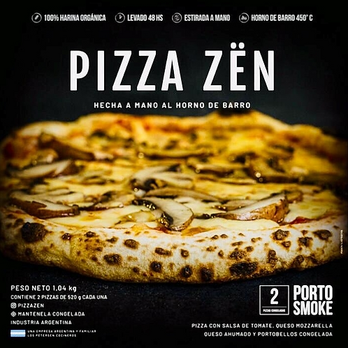 Pizza Zën Porto Smoke - 2 unidades