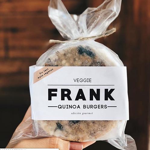 Quinoa Burger - Frank Burgers 4u.
