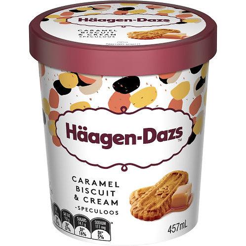 Helado de Caramel Biscuit Häagen Dazs 473 ml