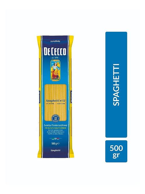 Spaghetti Nro 12 De Cecco 500 gr