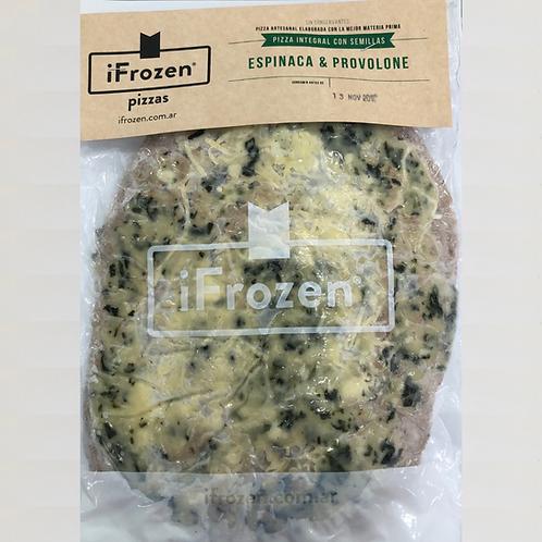 Pizza Integral de Espinaca y Provolone iFrozen