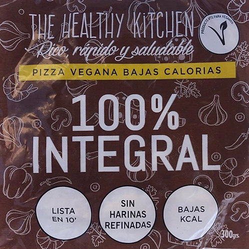 Pizza Integral - The Healthy Kitchen