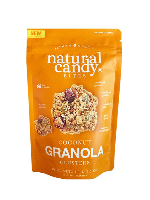 Coconut Granola Cluster Natural Candy