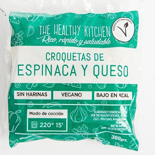 Croquetas Veganas de Espinaca y Queso de Almendras - The Healthy Kitchen 300 grs
