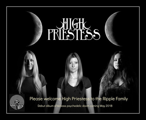High Priestess Signs with Ripple Music
