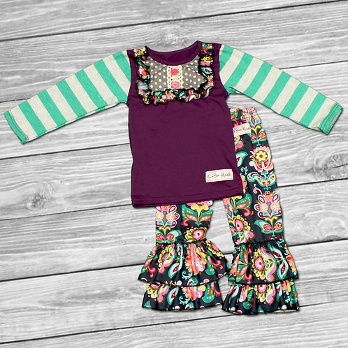 Floral Fantasy Ruffle Outfit