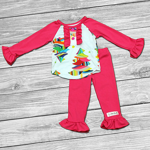Rainbow Trees Outfit