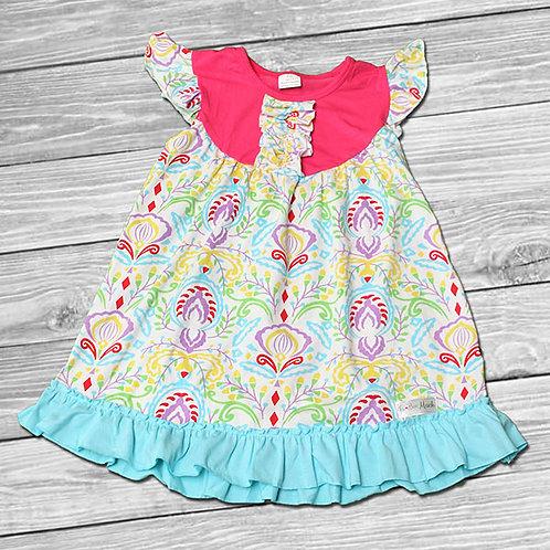 Summer Fun Ruffle Dress/Tunic