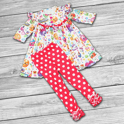 Polka Dot Shop Pajamas