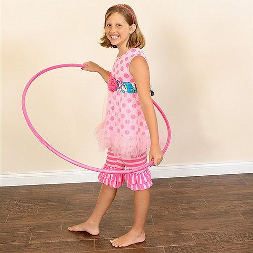 Pink Polka Princess Ruffle Outfit