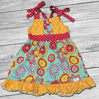 Sunshine Party Ruffle Dress