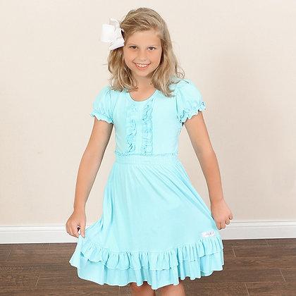 Simple Chic Ruffle Dress