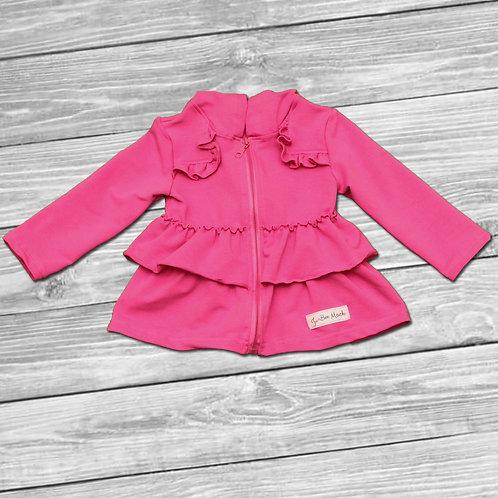 Pink Jubee Ruffle Jacket