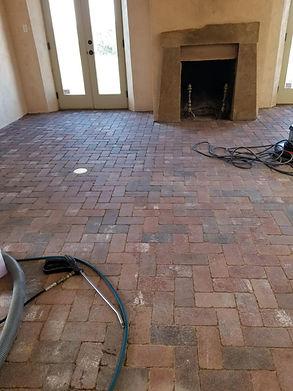 Santa Fe Brick Floor Before Cleaning.jpg
