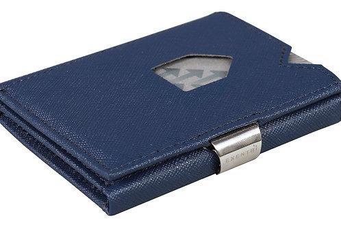 EX 044 Saffiano Blue Deri Kartlık - Cüzdan