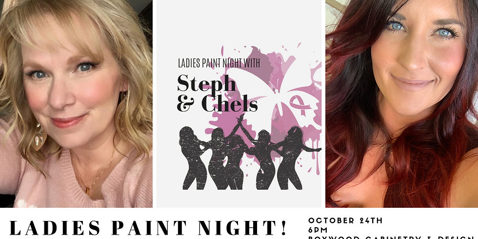 *SOLD OUT* Ladies Paint Night with Steph & Chels