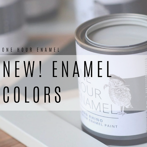 New! One Hour Enamel Colors