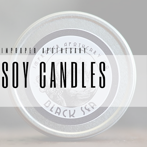 Improper Apothecary Soy Candles