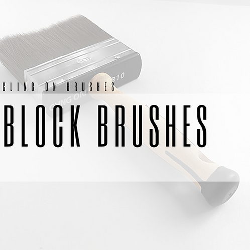 Clingon Block Brushes
