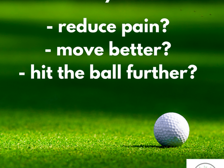 Calling all Golfers - Avoid Common Golf Injuries and Golf Related Pain