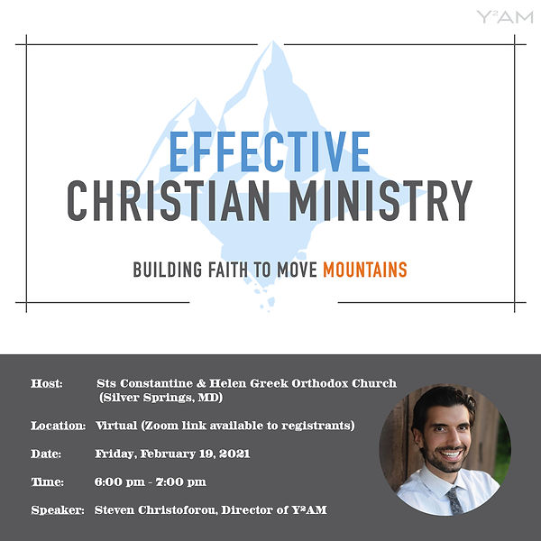 Effective Christian Ministry Workshop at