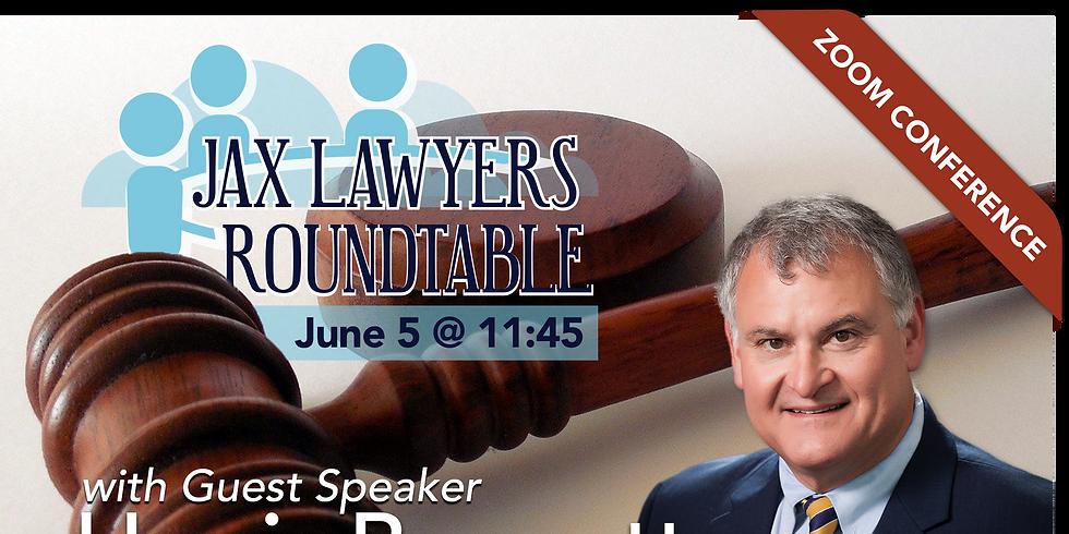 Guest Speaker Harris Bonnette