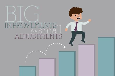Big Improvements from Small Adjustments