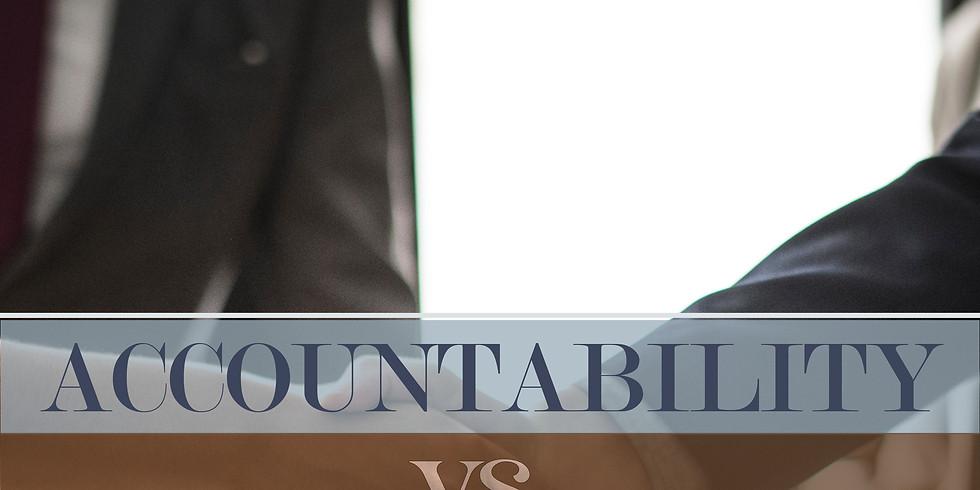 Accountability vs. Responsibility with Jerry Gitchel
