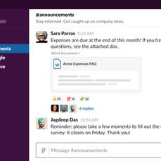노션과 슬랙의 장점을 한 번에 모아 놓은 협업툴