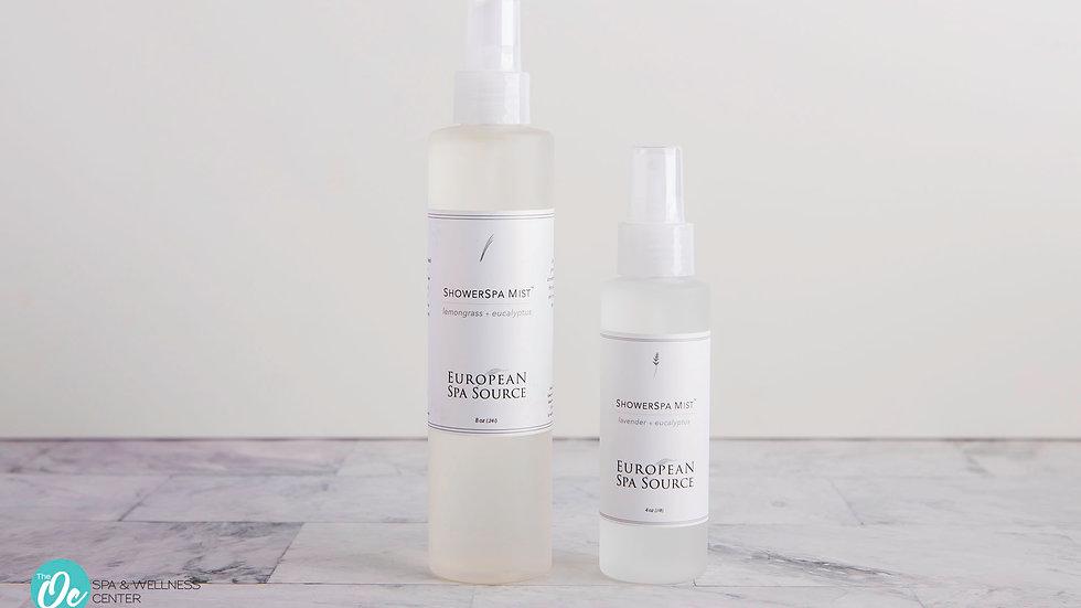 Showerspa Mist Lavendar + Eucalyptus 8oz