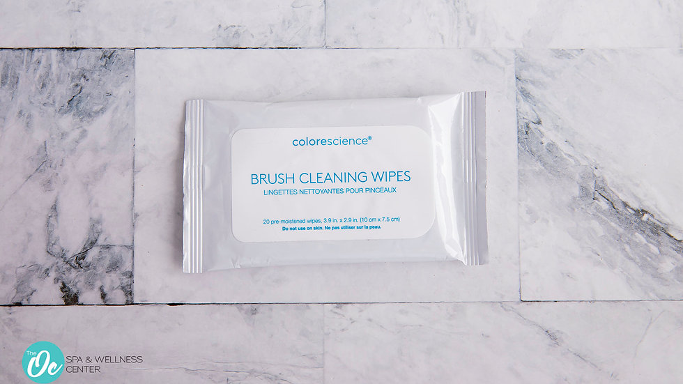 Color Science BRUSH CLEANING WIPES