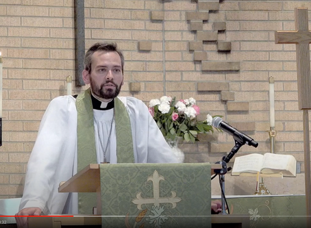 2020 VIDEOS Sermon #1: Monday Vespers -- Pastor Jack Gilbert