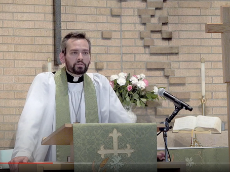 2020 VIDEOS Sermon #1: Monday Vespers -- Pastor Jack Gilbert