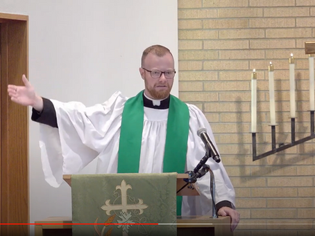 2020 VIDEOS Sermon #4: Wednesday Matins -- Pastor Aaron Uphoff