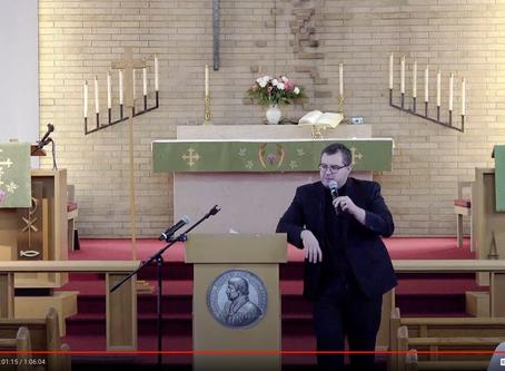 "2020 VIDEOS Keynote Address #2: ""God's Aeolian Harp"" -- Pastor Travis Berg"
