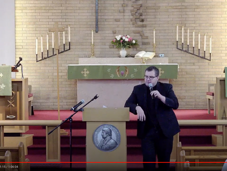 "2020 VIDEOS Keynote Address #2: ""God's Aeolian Harp"" -- Pastor Travis Berg"